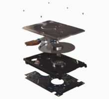Exploded view harddisk Kids Clothes
