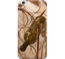 bottle of wine iPhone Case/Skin