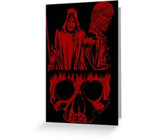 The Anger Within. Greeting Card