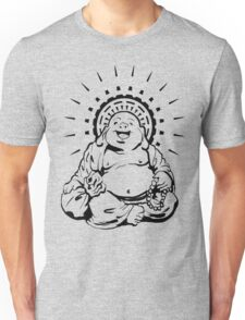 Sunburst Happy Buddha Unisex T-Shirt
