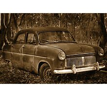 Ford Consul - Rusting Beauty Photographic Print