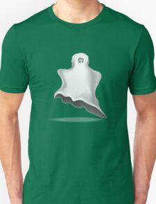 White Halloween ghost  T-Shirt