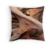 Ancient wood Throw Pillow