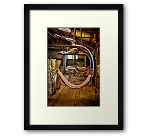 """""""Day's End on the Board"""" Framed Print"""