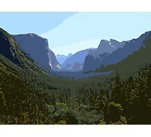 Canyon Landscape Photographic Print