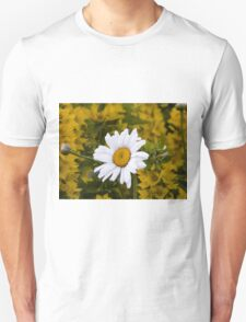 Chamomiles in the garden Unisex T-Shirt