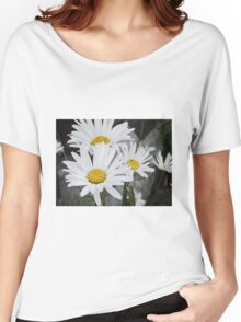 Chamomiles in the garden 5 Women's Relaxed Fit T-Shirt