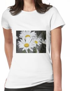 Chamomiles in the garden 5 Womens Fitted T-Shirt