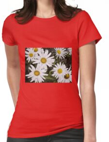 Chamomiles in the garden 6 Womens Fitted T-Shirt