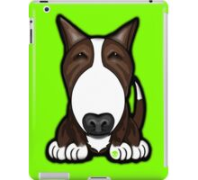 Brown Patch English Bull Terrier iPad Case/Skin