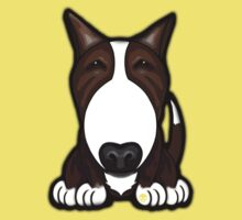 Brown Patch English Bull Terrier by Sookiesooker