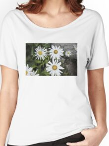 Chamomiles in the garden 9 Women's Relaxed Fit T-Shirt