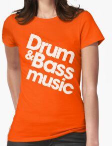Drum & Bass Womens Fitted T-Shirt