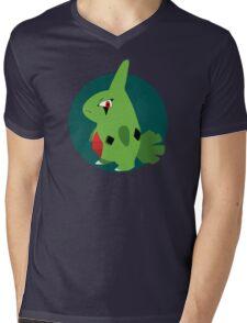 Larvitar - 2nd Gen Mens V-Neck T-Shirt