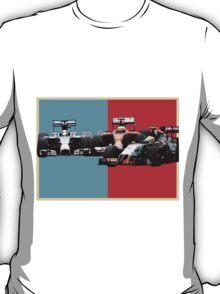 Obama stylised Hockenheim 2014 clash T-Shirt