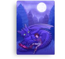 How to Train Your Dragon - Sleepy Time Canvas Print