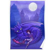 How to Train Your Dragon - Sleepy Time Poster