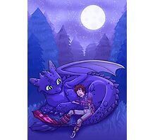 How to Train Your Dragon - Sleepy Time Photographic Print
