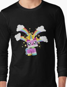 Princess Unikitty YAY! Long Sleeve T-Shirt