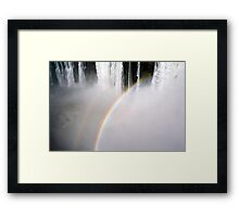 Thunderous Waters Framed Print