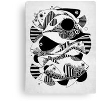 Glub Glub Canvas Print