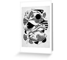 Glub Glub Greeting Card