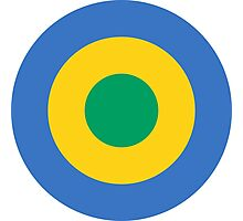 Roundel of the Gabon Air Force Photographic Print