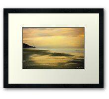 Soft Morning Hues © Framed Print