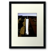 even while you're sleeping Framed Print