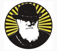 Charles Darwin starburst by colinpurrington