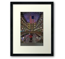 The Old Arcade Framed Print