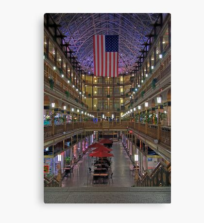 The Old Arcade Canvas Print