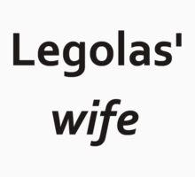 Legolas' wife by kryzanty