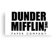 Dunder Mifflin, Inc Paper Company Canvas Print