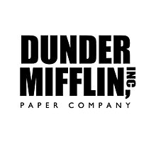 Dunder Mifflin, Inc Paper Company Photographic Print
