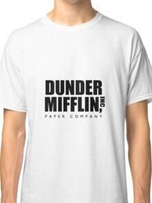 Dunder Mifflin, Inc Paper Company Classic T-Shirt
