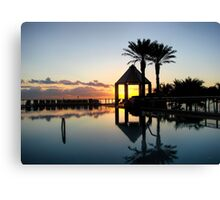 Sunrise, Hollywood, Florida Canvas Print
