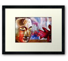Soft Buddha Framed Print
