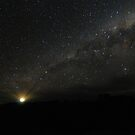 Lighting up the Milky Way by Wayne England