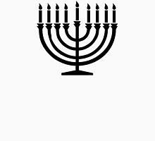 Hanukkah Menorah Womens Fitted T-Shirt