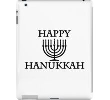 Happy Chanukkah iPad Case/Skin