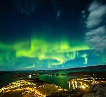 Lights Over Lauvsnes by CrimsonSkyPhoto