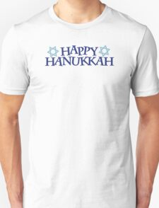 Happy Hanukkah Unisex T-Shirt