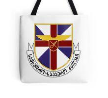 Emblem of the Georgian Air Force  Tote Bag