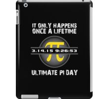 '2015 Ultimate Pi Day Gold Collector's Edition' T-Shirts, Hoodies, Accessories and Gifts iPad Case/Skin