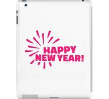 Happy New Year Fireworks iPad Case/Skin