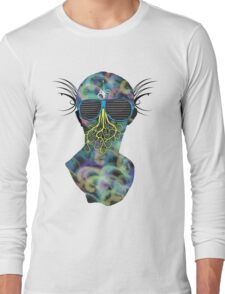 Colorful Alien Long Sleeve T-Shirt