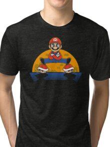 Plumber Split Tri-blend T-Shirt
