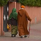 Marrakech - Tenues traditionnelles by Jean-Luc Rollier