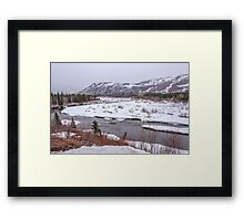 Alaska River Framed Print